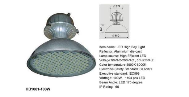 high bay led light low cost energy efficient led lighting